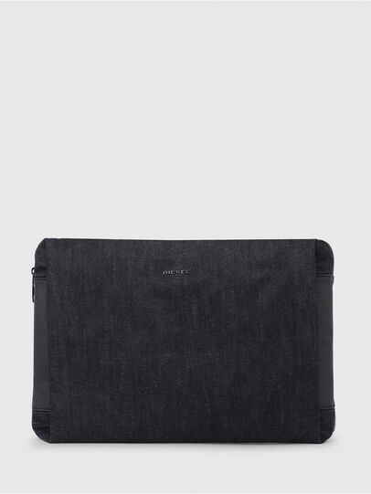 Diesel - D-SUBTORYAL CLUTCH, Blue Jeans - Clutches - Image 1