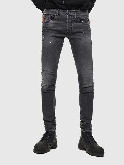 Diesel - Sleenker 069JR, Black/Dark grey - Jeans - Image 1