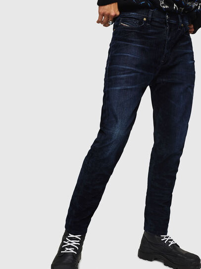 Diesel - D-Vider 0091U, Dark Blue - Jeans - Image 1