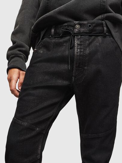 Diesel - D-Luhic JoggJeans 0092W, Black/Dark grey - Jeans - Image 3