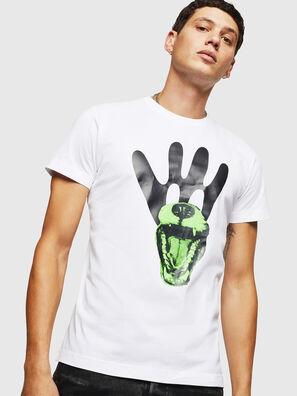 T-DIEGO-B18, White - T-Shirts