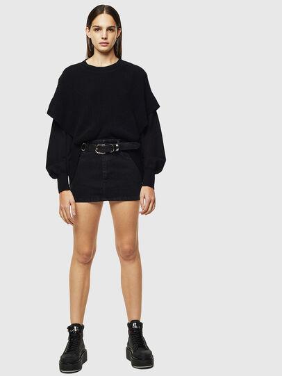 Diesel - M-NEXY, Black - Knitwear - Image 5