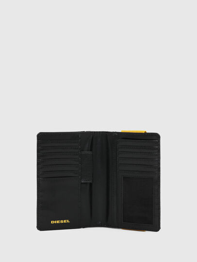 Diesel - ORGANIESEL, Black/Yellow - Small Wallets - Image 3