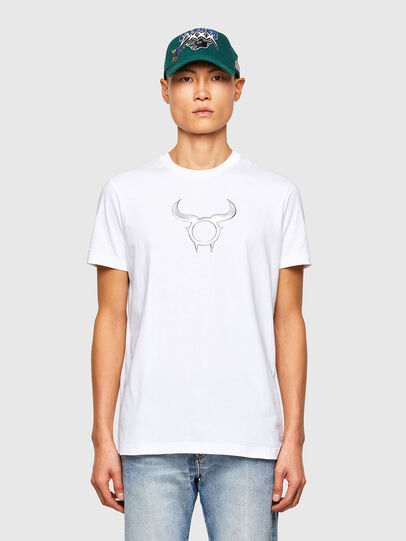 Diesel - CL-T-DIEGOS-O2, White - T-Shirts - Image 1
