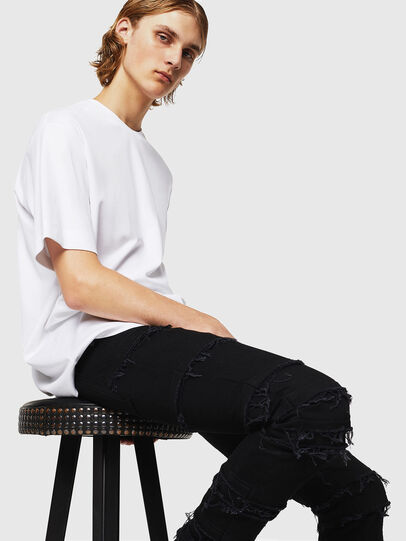 Diesel - TEORIALE-X3, White - T-Shirts - Image 6
