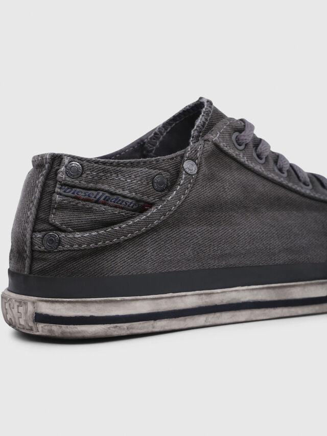 Diesel - EXPOSURE IV LOW  W, Metal Grey - Sneakers - Image 4