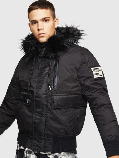 Diesel - W-BURKISK, Black - Winter Jackets - Image 1
