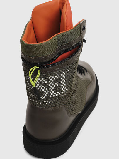 Diesel - H-CAGE DBZ, Olive Green - Boots - Image 4