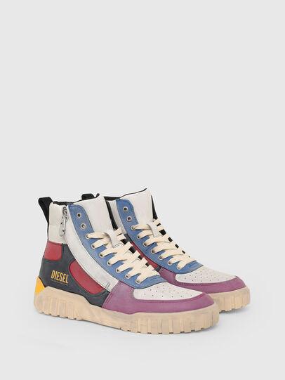 Diesel - S-RUA MID SK, Multicolor - Sneakers - Image 2
