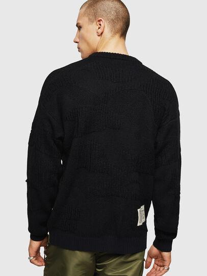 Diesel - K-MUSCHIO, Black - Knitwear - Image 2