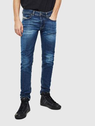 Sleenker 0097T, Dark Blue - Jeans