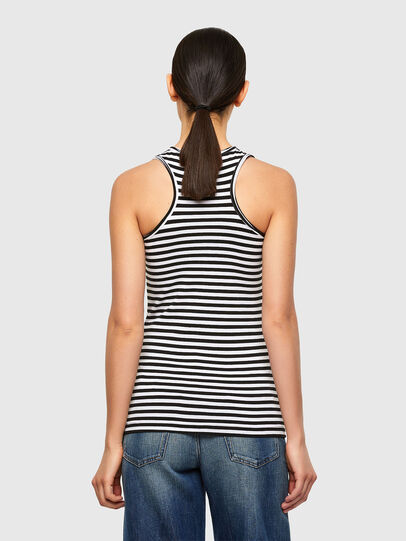 Diesel - T-REC, White/Black - Tops - Image 2