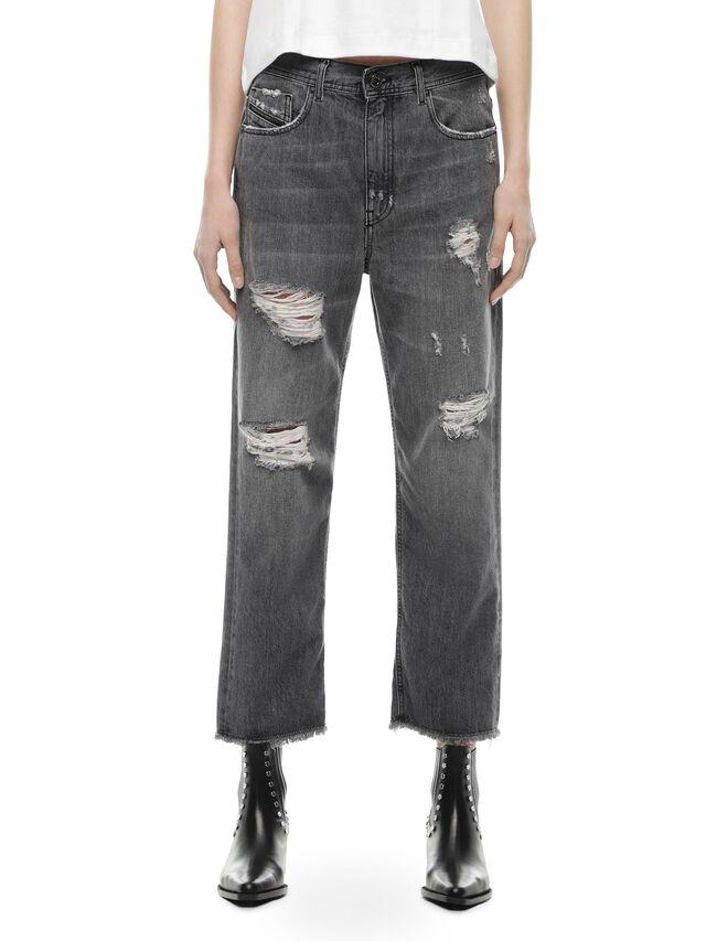 Diesel - TYPE-1815-RE, Grey Jeans - Jeans - Image 1