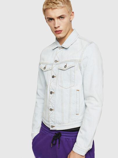 Diesel - D-GALY-F, Blue Jeans - Denim Jackets - Image 1