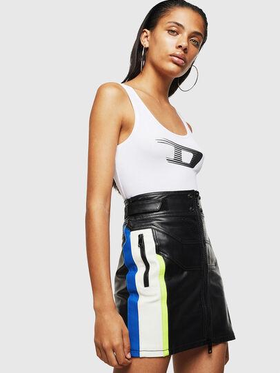 Diesel - ASTARS-SCINQUES, Black - Skirts - Image 6