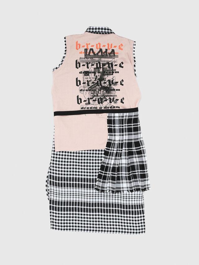 Diesel - DHELGE, Black/Pink - Dresses - Image 2