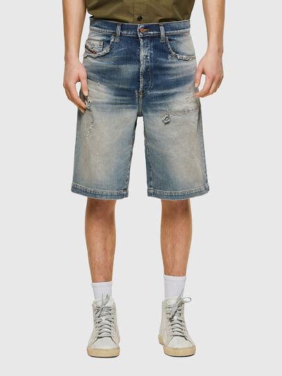 Diesel - D-MACS-SHORT, Light Blue - Shorts - Image 1