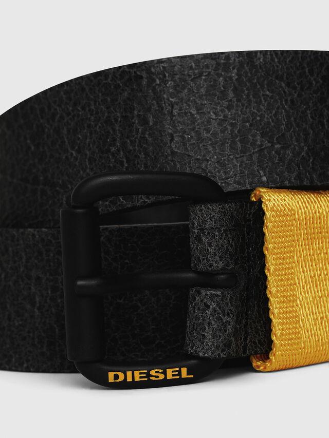 Diesel - B-VIDOR, Black/Yellow - Belts - Image 2