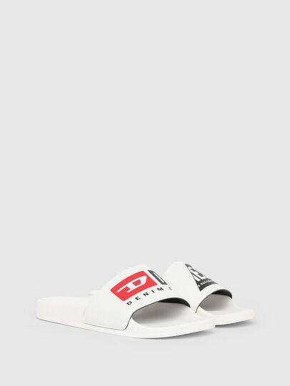Diesel - SA-MAYEMI PW, White - Slippers - Image 2