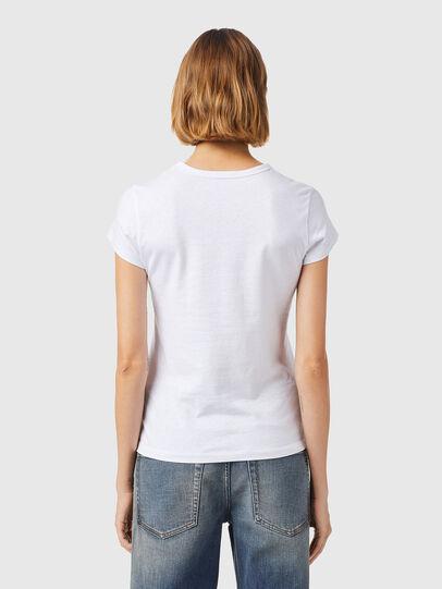 Diesel - T-SLICUP-B3, White - T-Shirts - Image 2