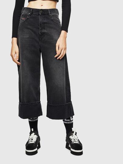 Diesel - D-Luite 083AK, Black/Dark grey - Jeans - Image 1