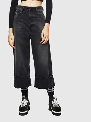D-Luite 083AK, Black/Dark grey - Jeans