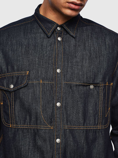 Diesel - D-MILLY,  - Denim Shirts - Image 5