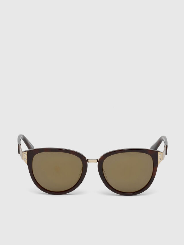 Diesel - DL0234, Brown - Sunglasses - Image 1