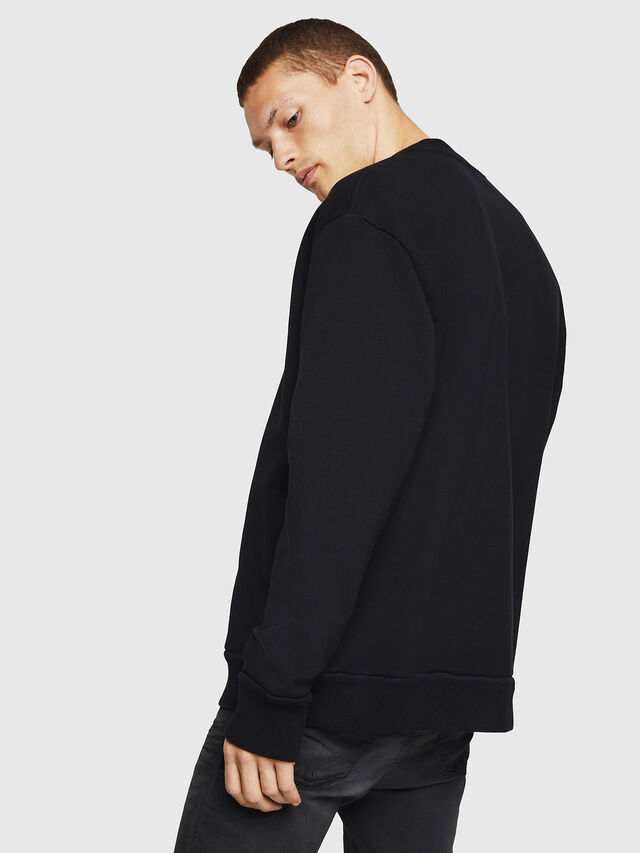 Diesel - S-SAMY, Black - Sweaters - Image 2