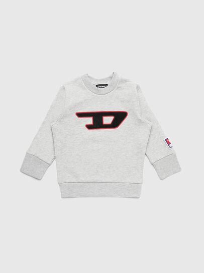 Diesel - SCREWDIVISIONB-D-R, Grey - Sweaters - Image 1