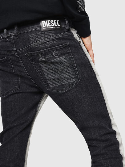 Diesel - Sleenker 082AX, Black/Dark grey - Jeans - Image 5