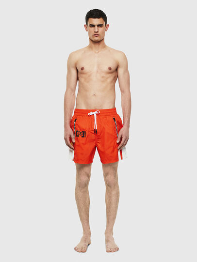 Diesel - BMBX-WAVE-E42, Orange - Swim shorts - Image 1