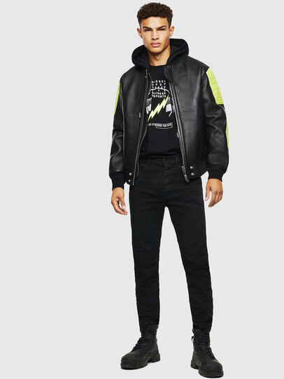 Diesel - L-BRANDO,  - Leather jackets - Image 7