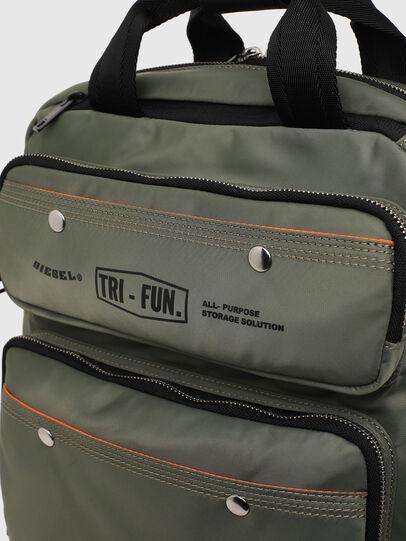 Diesel - TROPHY, Green - Backpacks - Image 5