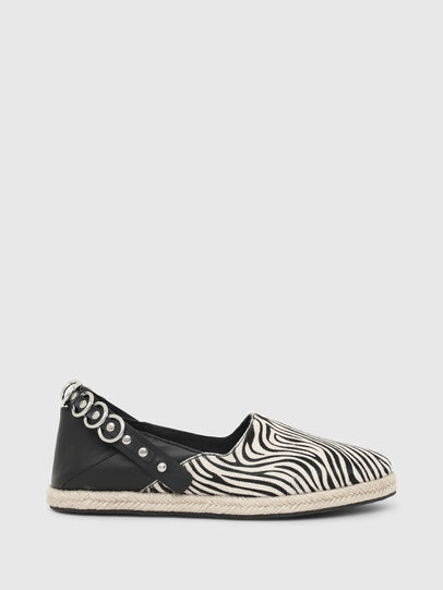 Diesel - S-LIMA W, Black/White - Flats - Image 1