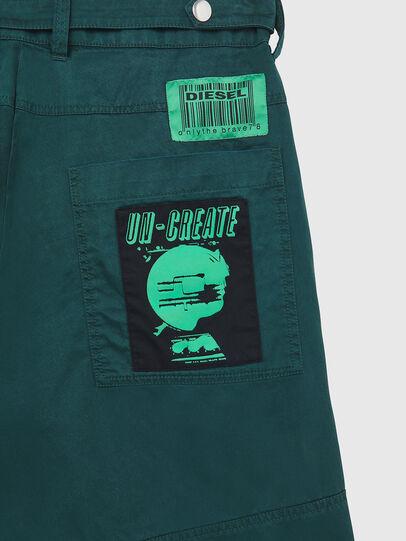 Diesel - P-DUGA-SHO, Dark Green - Shorts - Image 4