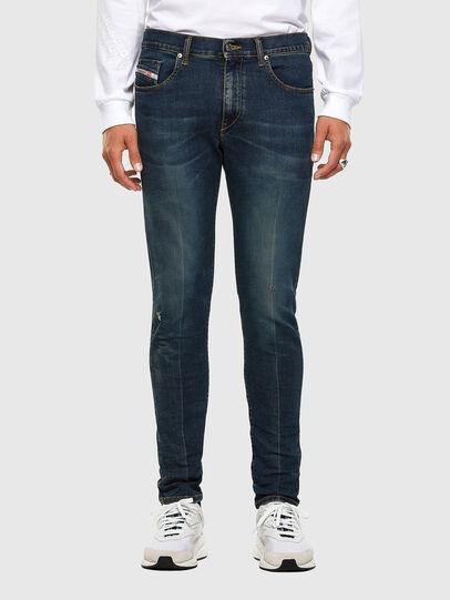 Diesel - D-Strukt 0093J, Dark Blue - Jeans - Image 1