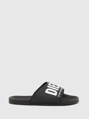 FF 01 SLIPPER CH, Black - Footwear