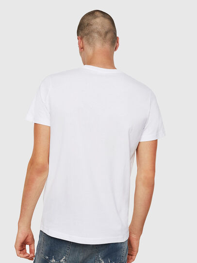 Diesel - T-DIEGO-DIVISION, White - T-Shirts - Image 2
