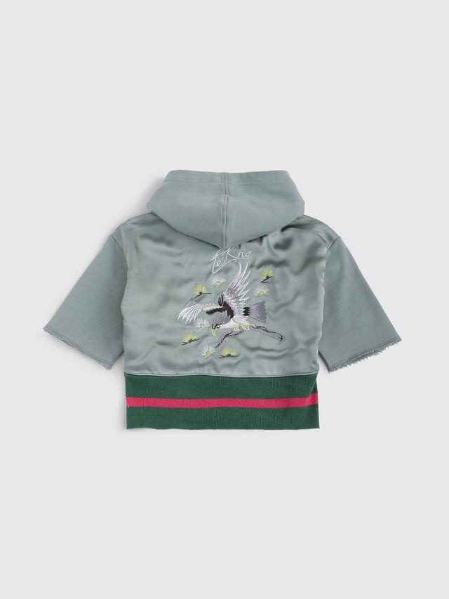 Diesel - SFELOC, Water Green - Sweaters - Image 2