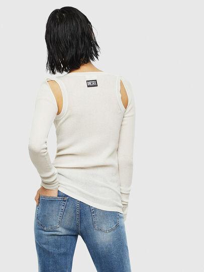 Diesel - K-SIMONA, White - Knitwear - Image 2