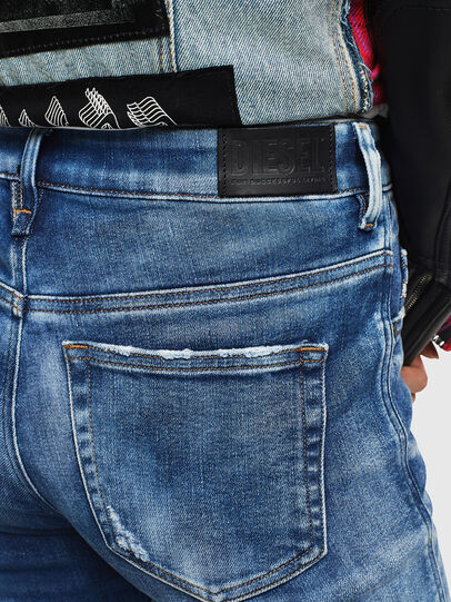 Diesel - Slandy High 0096J, Medium blue - Jeans - Image 5