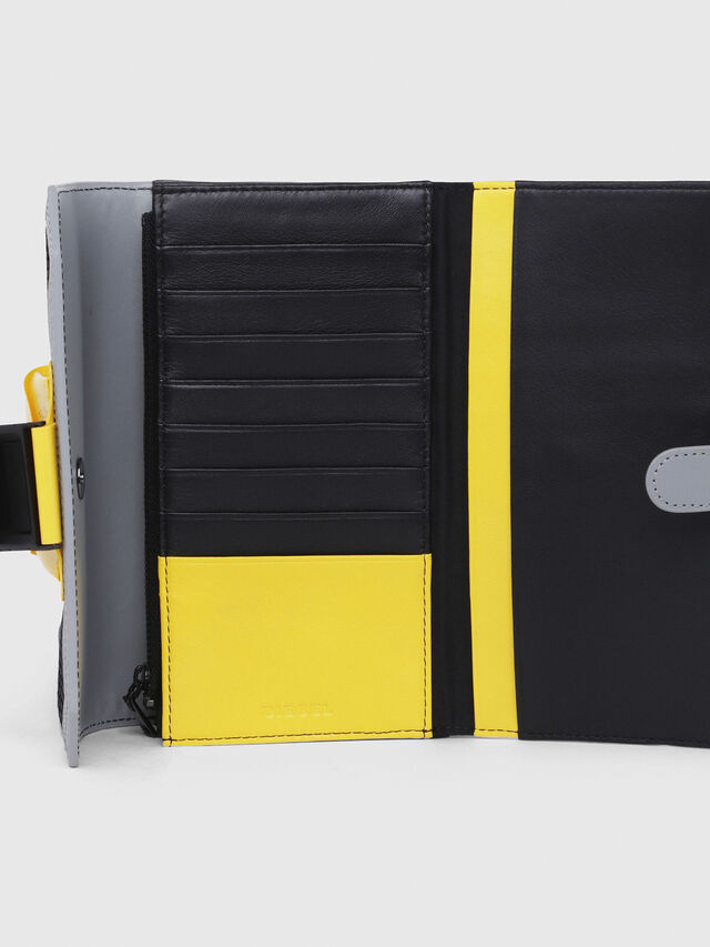 Diesel - DIPSY, Blue/Yellow - Small Wallets - Image 4
