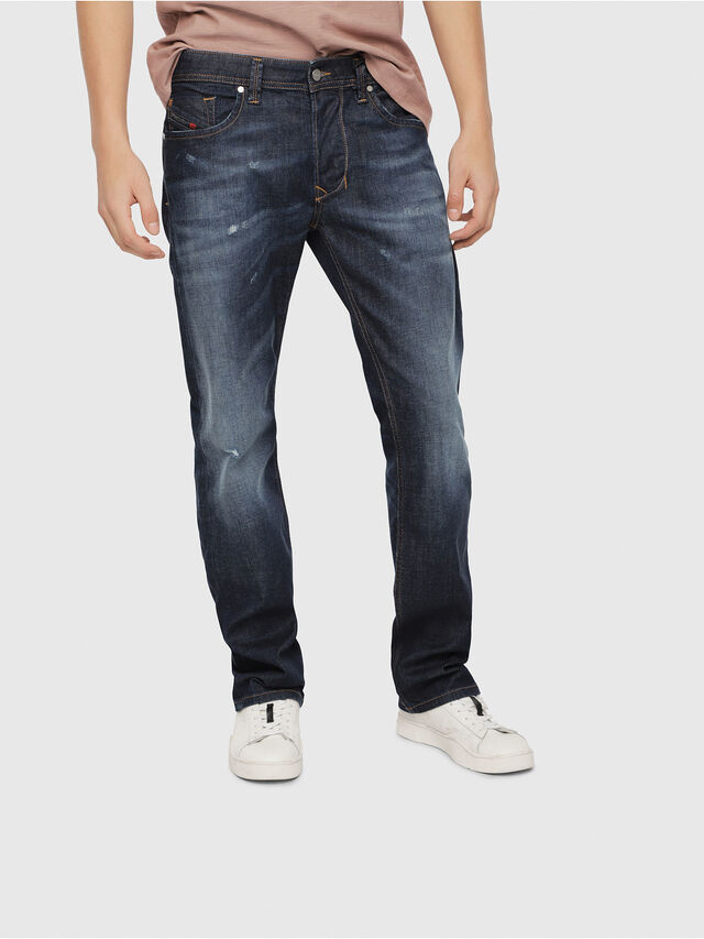 Diesel - Larkee 087AN, Dark Blue - Jeans - Image 1
