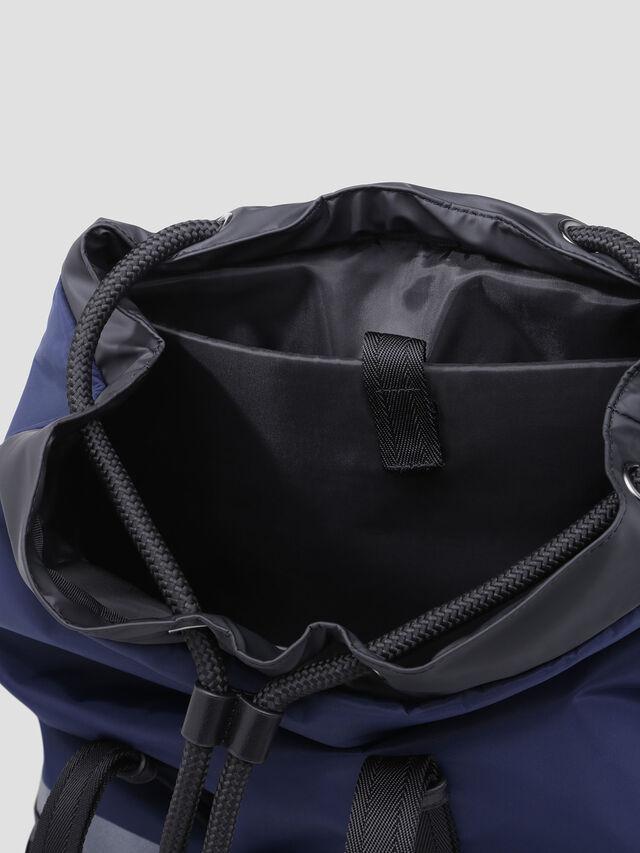 Diesel - VOLPAGO BACK, Blue - Backpacks - Image 3