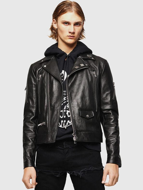 L-PERF,  - Leather jackets