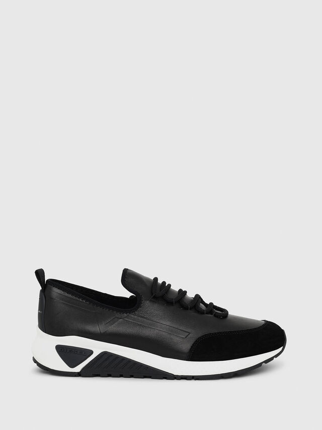 Diesel S-KBY, Black Leather - Sneakers - Image 1
