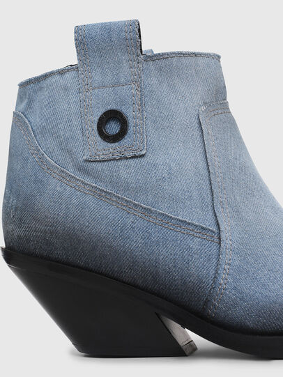 Diesel - D-GIUDECCA MAB, Blue Jeans - Ankle Boots - Image 4