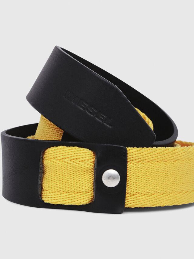Diesel - B-BOSCO, Black/Yellow - Belts - Image 2
