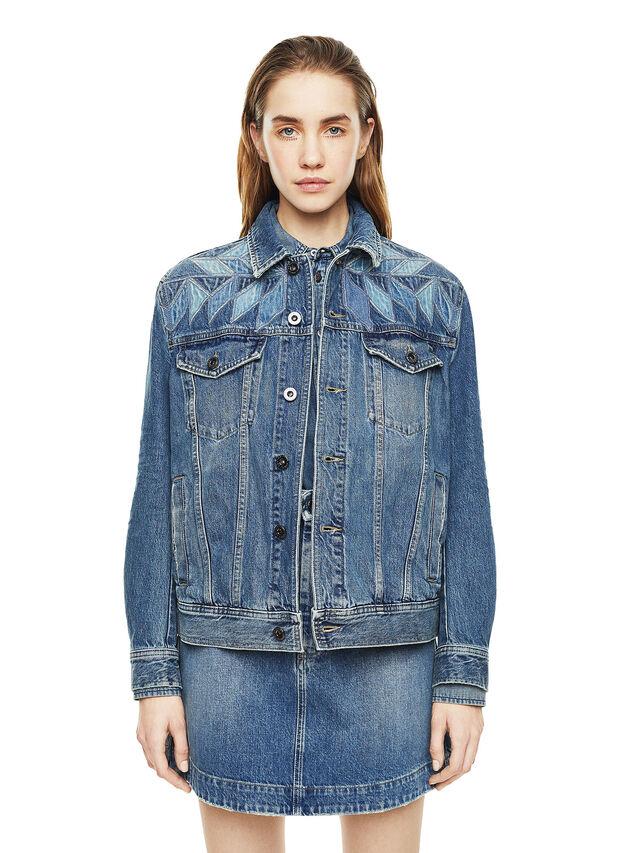 Diesel - WONDERY, Blue Jeans - Jackets - Image 1